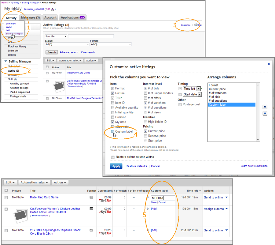 Adding Skus To Existing Ebay Listings Brightpearl Help Center