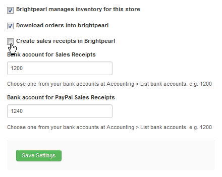shopify activate sync options