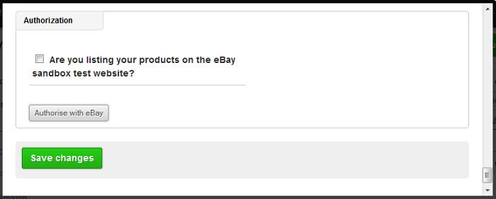 eBay authorize