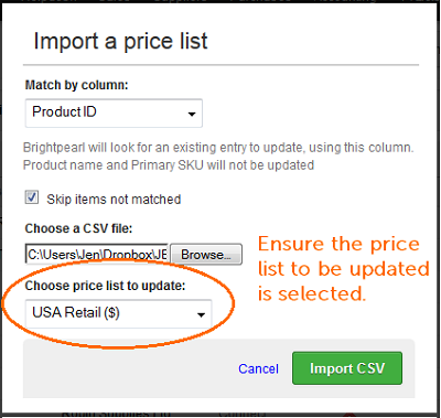 how to price import