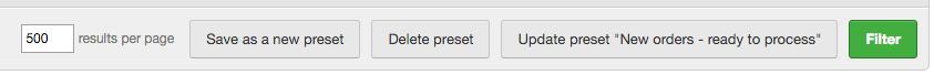 copy a delete preset