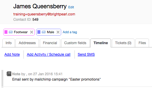 MailChimp Brightpearl Help Center - Mailchimp template tags