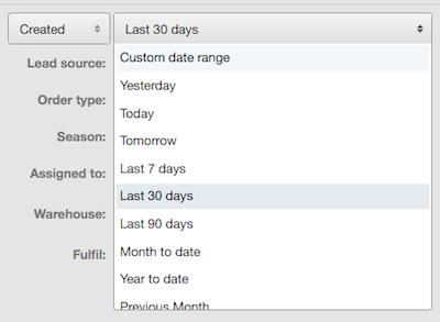 relative dates