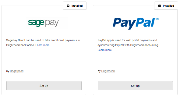 sagepay paypal apps