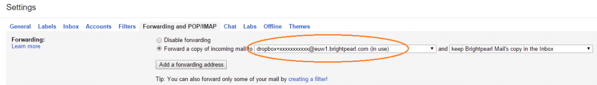 gmail autoforward