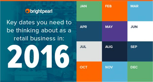 The 2016 Retail Calendar: Key dates you need to think about as a retail business in 2016